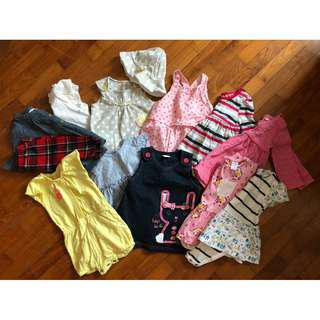 0-3 month clothes bundle for girl