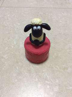 Shawn the sheep McDonald's Happy Meal Toy Bubble making container