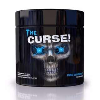 🚚 🔥 FAST SELLING The Curse Preworkout 50 SERVINGS