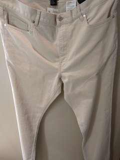 Trousers Mens h&m (beige)