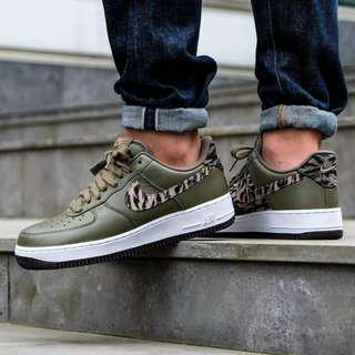 """Nike Air Force 1 Low PRM """"Olive Tiger Camo"""""""