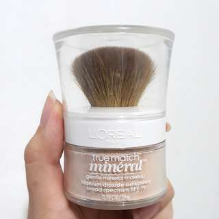 L'Oreal True Match Mineral Loose Powder Foundation