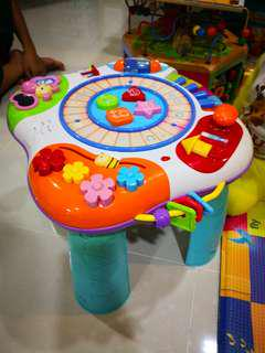Toy Musical learning table
