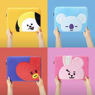 [PO] BT21 Laptop Sleeves