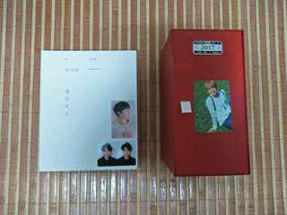 WTS BTS OFFICIAL PHOTOCARD / 2017 MEMORIES  / 2017 SEASON GREETINGS