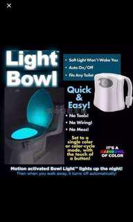 LED人體感應小夜燈