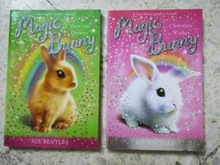 Magic Bunny series by Sue Bentley