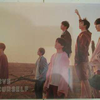 Poster BTS Tear Love Yourself Album