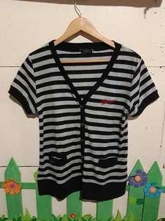 👚 stripes blazer / shirt