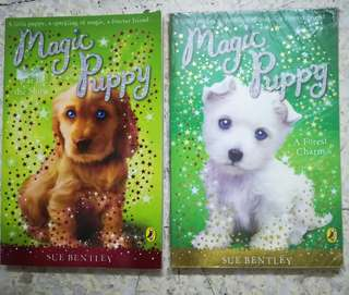 Story Books Magic Puppy series by Sue Bentley