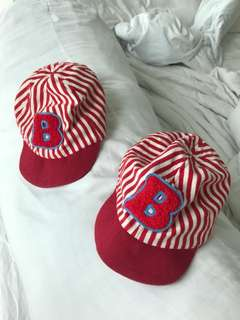 Cap for twins