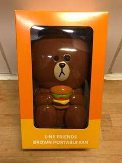 McDonald x Line 熊大小風扇