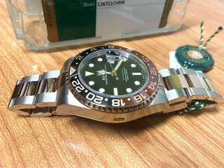 Rolex 紅金鋼GMT