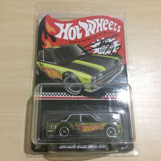 Hot Wheels 2017 Collector Edition Datsun Bluebird 510 signed by Jun Imai at AOS2017