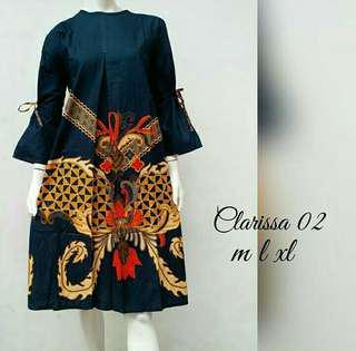 Batik Kerja Dress Clarisa