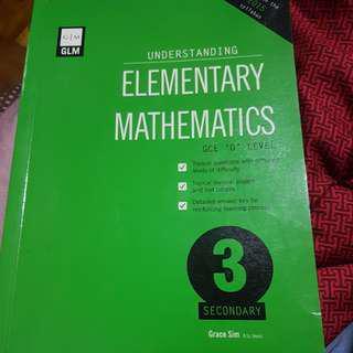 40% off!! Elementary Mathematics GLM Secondary 3