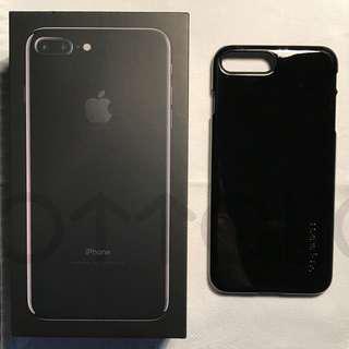 98% 新! Jet Black iPhone 7 Plus 128gb