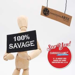 🚚 Iron on Patch | 100% Savage