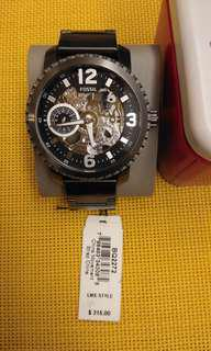 Fossil Stainless Steel Mechanical Watch