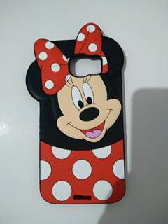 Samsung S6 flat Mickey Mouse rubber case