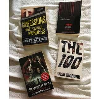 Bundle of 4 Books