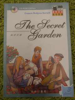 The Secret Garden 小學英文故事書連朗讀光碟CD 合高小學生 P4 - P6 Age 9歲-12歲 Black Cat系列 商務印書館 by Frances Hodgson Burnett 秘密花園