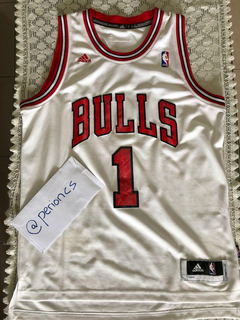 the latest 39c3e 9e3e4 Adidas NBA Derrick Rose Jersey (Chicago Bulls), Sports ...