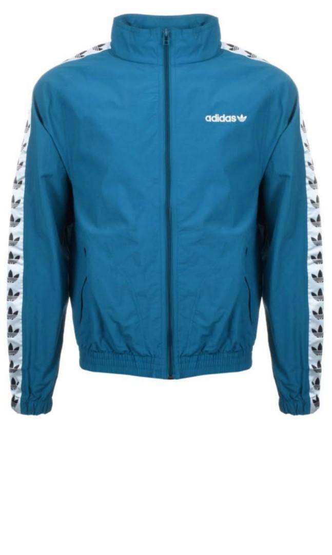 Adidas Originals Vintage Track Jacket With Taped Side Stripe Men S