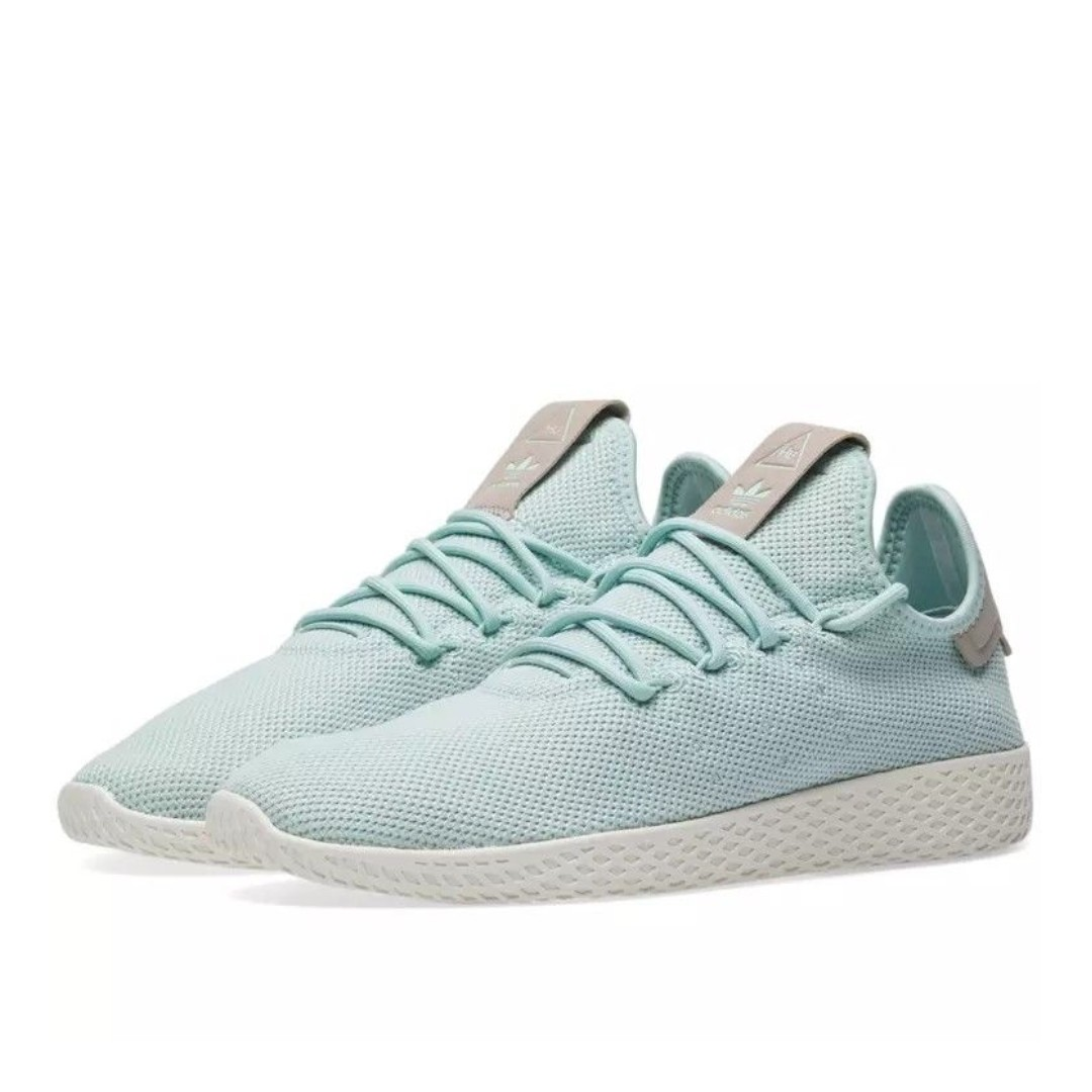 ac27b0e02bd81 adidas Pharrell Williams Tennis Hu Ash Green