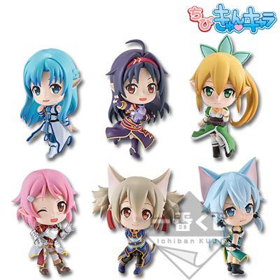 Asuna Ichiban Kuji Mini Figurine Toys Games Bricks Figurines
