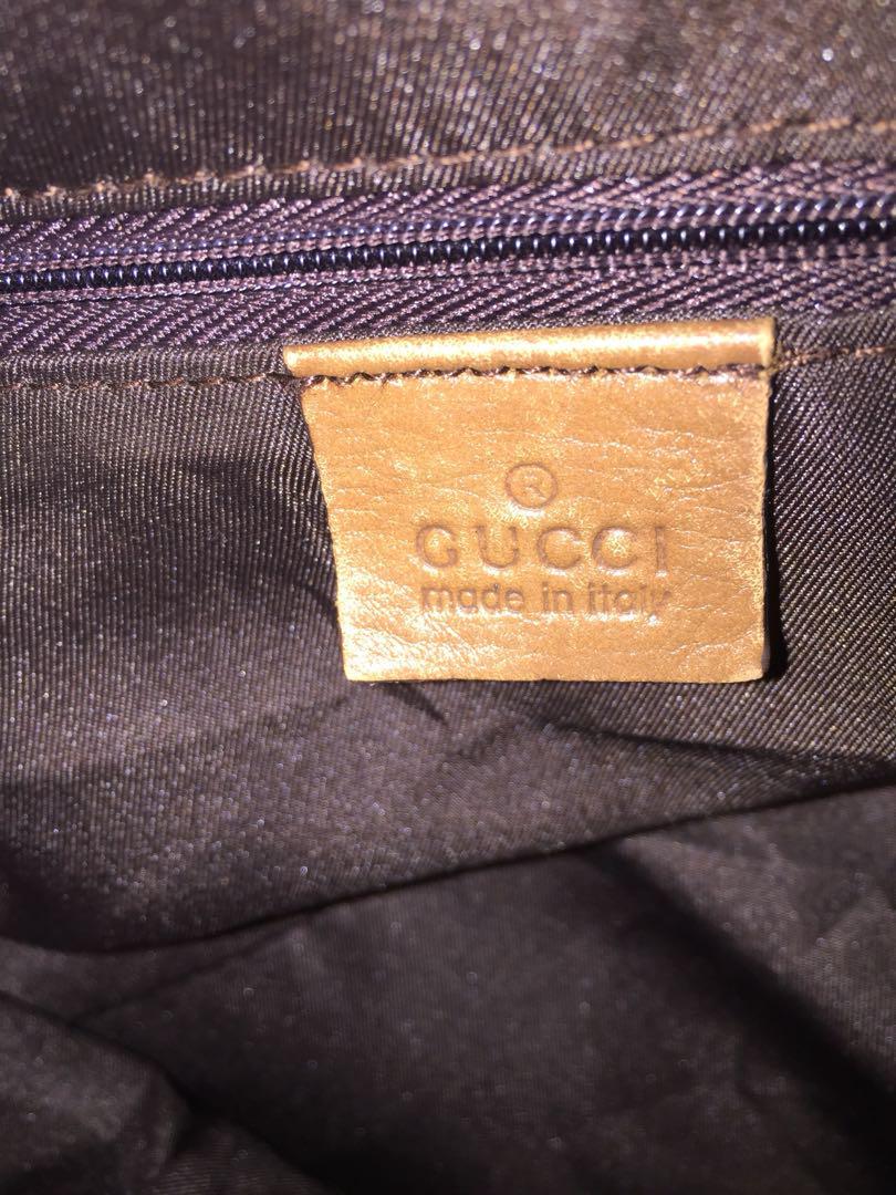 Authentic GUCCI Sukey Tote Bag Shoulder (223974)