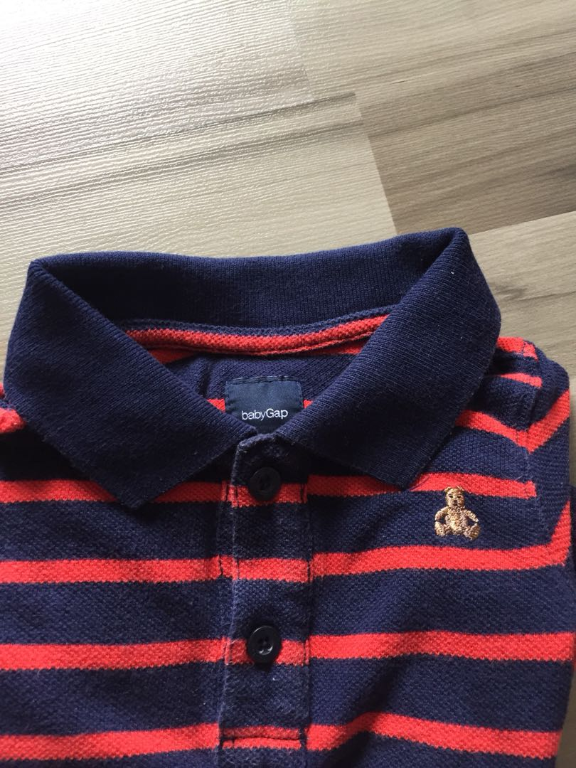 8fb5eafcc Baby gap onesie 12m for boy polo shirt style, Babies & Kids, Babies Apparel  on Carousell