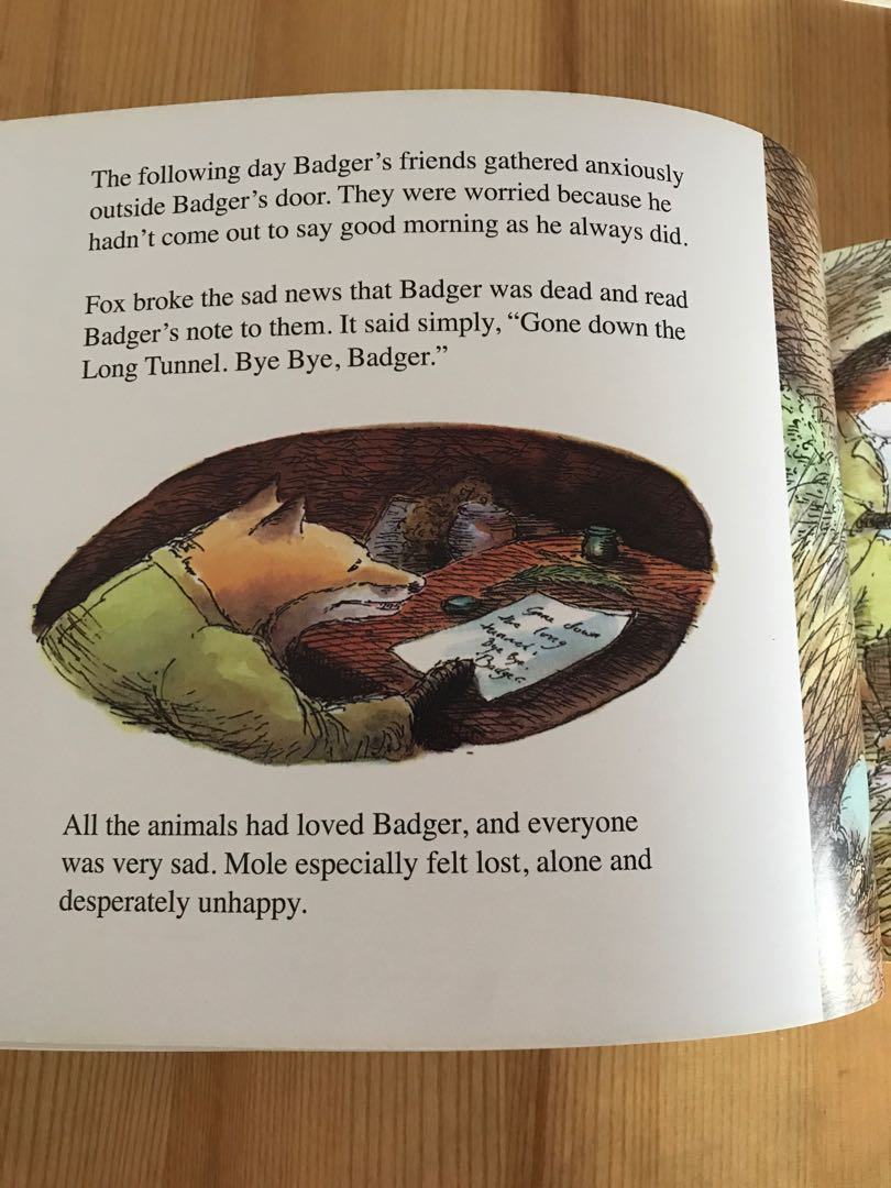 Badger s parting gift story gift ideas badger s parting gifts susan varley books stationery fandeluxe Images
