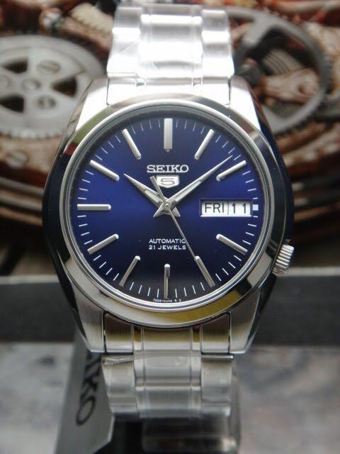 Bnib Seiko Snkl43 The Snkl23 With As Sunburst Blue Dial Men S
