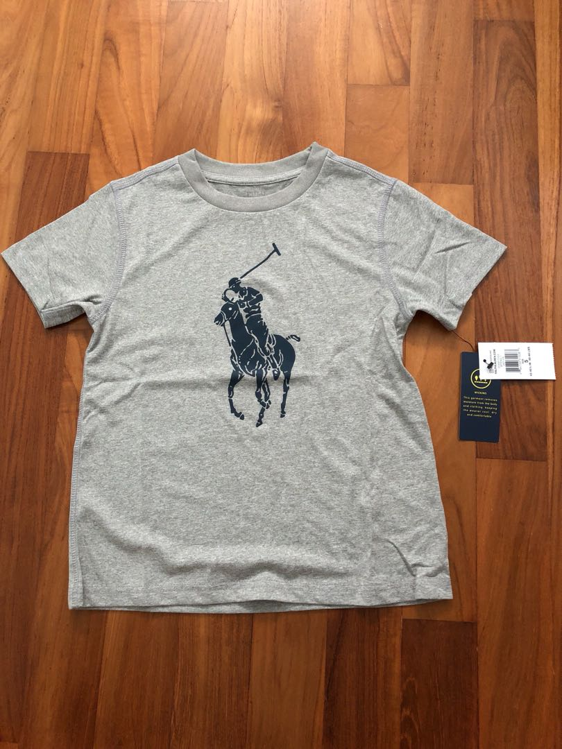 61b0733ea943 BNWT Ralph Lauren Dry Fit Tee 5 years