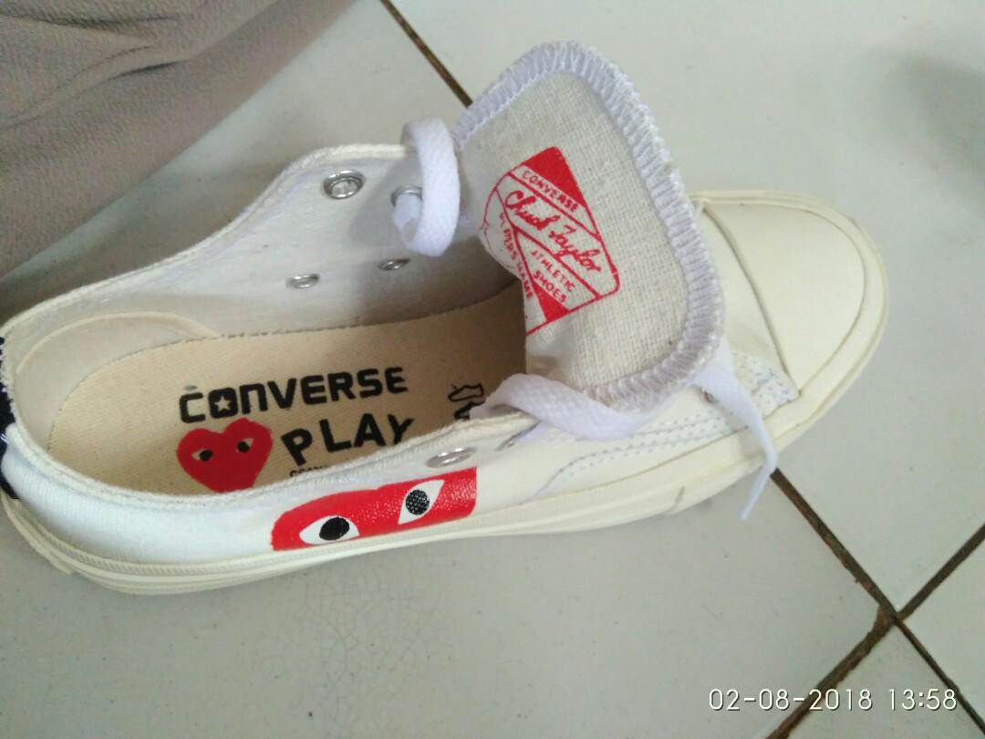 Converse x CDG Play BNIB Vietnam White *FreeOngkir Item!