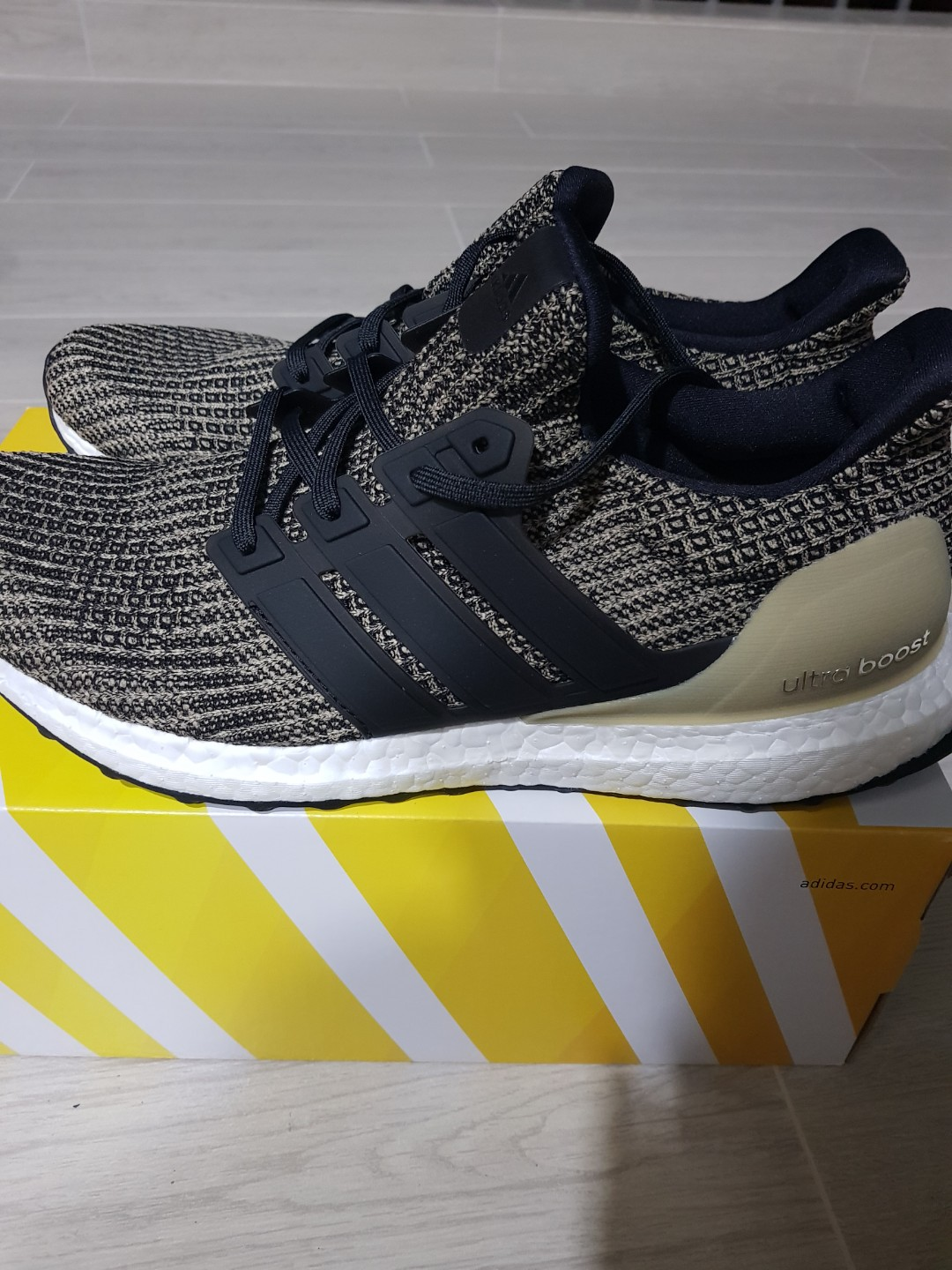 2b9a7e8e7 CUSTOMER ORDERS  Adidas Ultraboost 4.0 Black and Gold (Dark Mocha ...