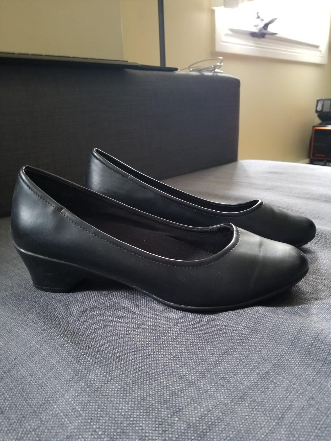Cute Safe Step Leather Shoes