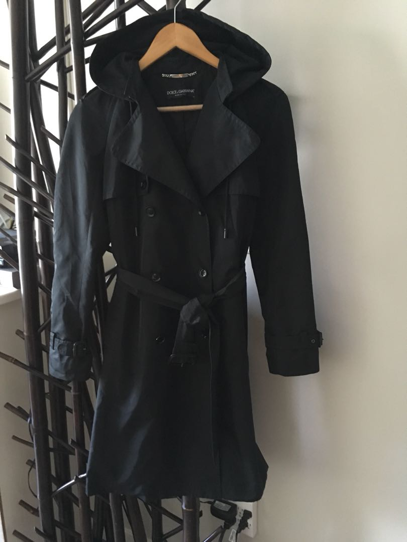 Dolce and Gabbana Trench coat.