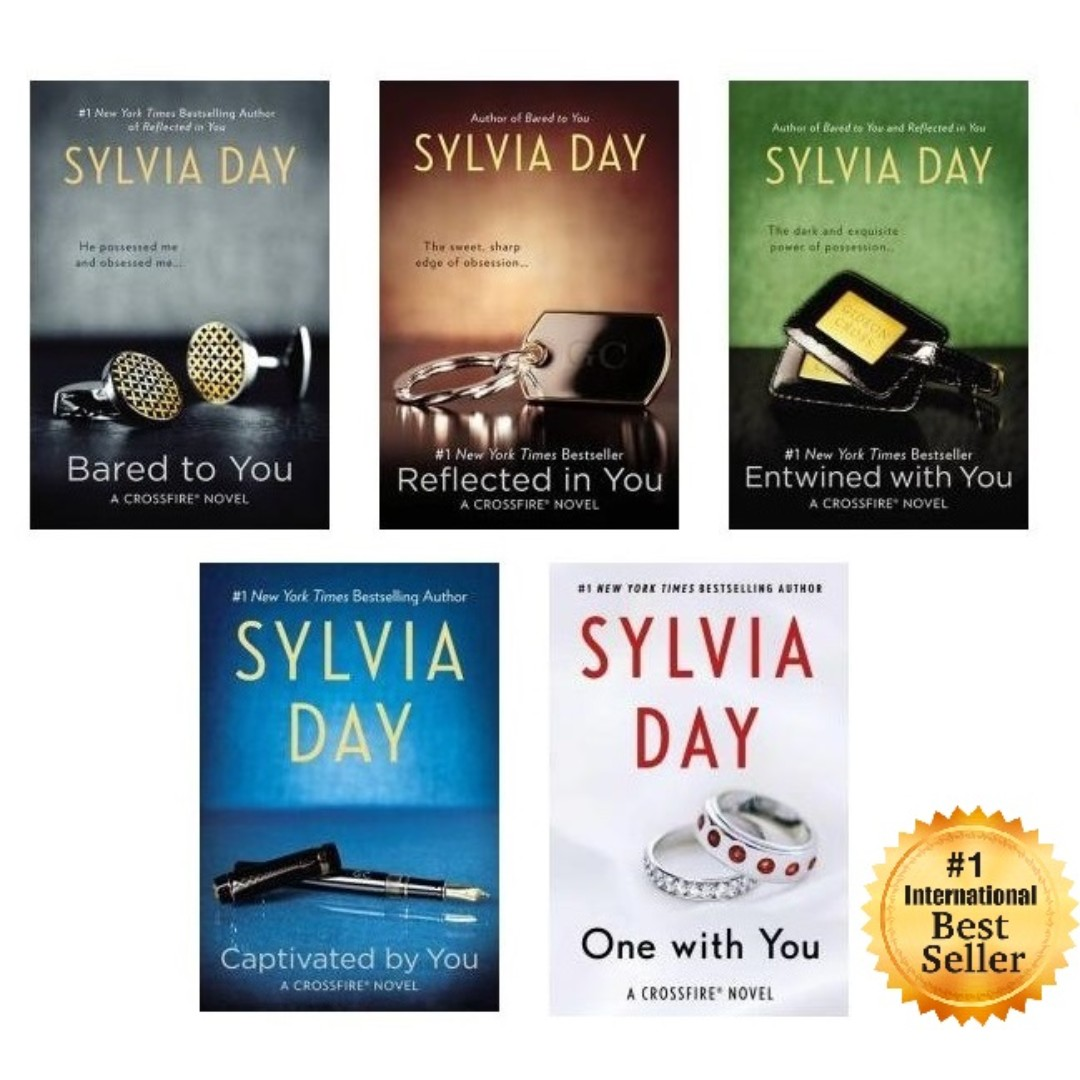 Ebooks 1 best seller sylvia day crossfire series full set 1 5 photo photo photo fandeluxe Images
