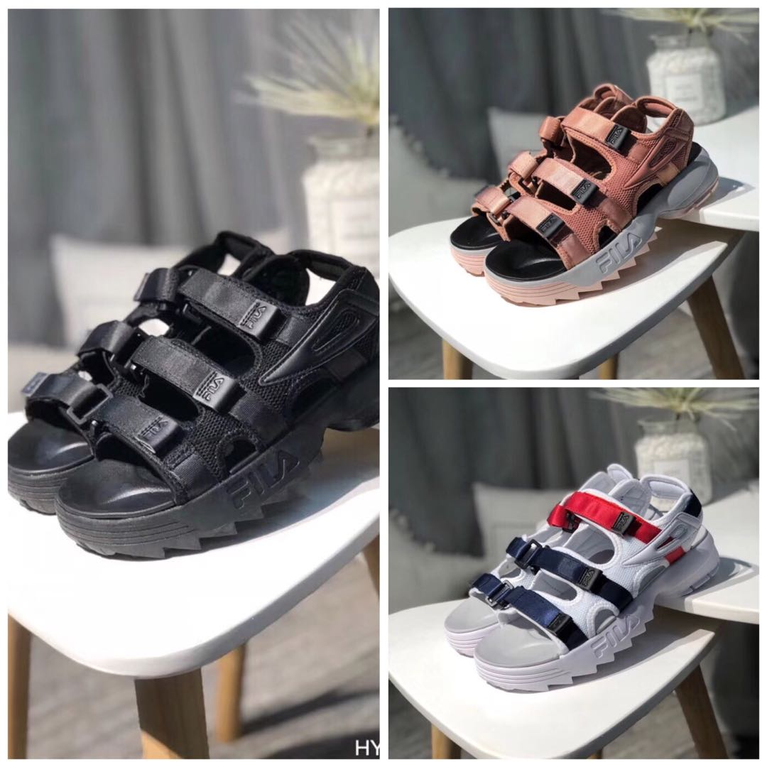 98b26f7f7d3 Fila Disruptor Sandals, Women s Fashion, Shoes, Flats   Sandals on ...