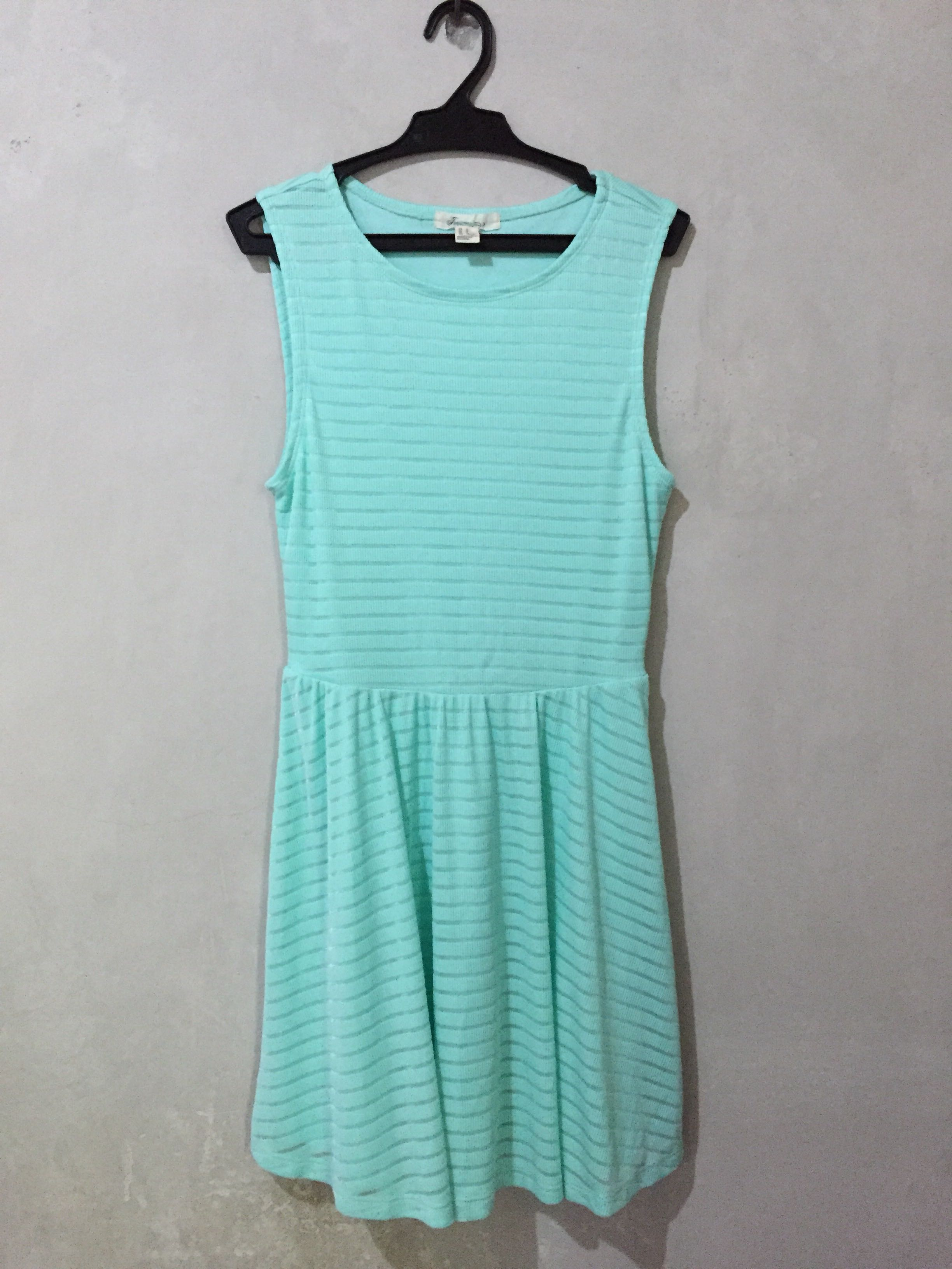 Forever 21 Mint Skater Dress df7378e9e0