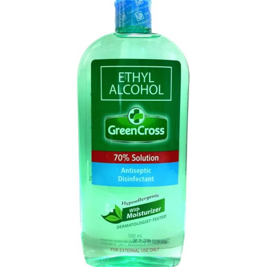 Hand/Body Sanitizer - Ethyl Rubbing Alcohol