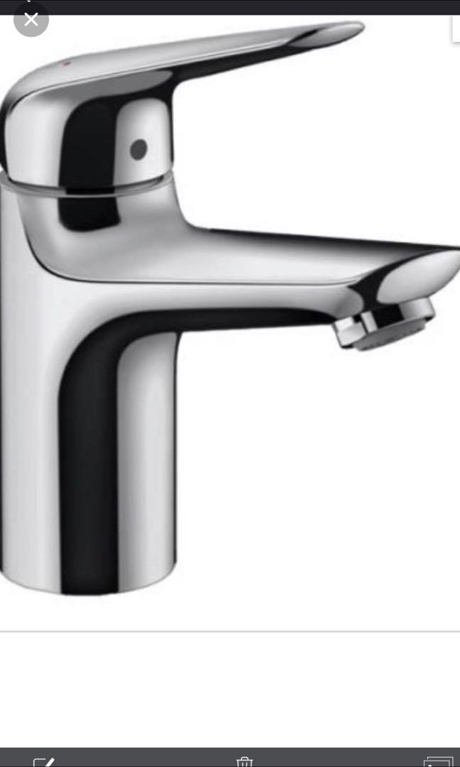 Hansgrohe Basin Mixer 71031 tap faucet, Home Appliances, Kitchenware ...