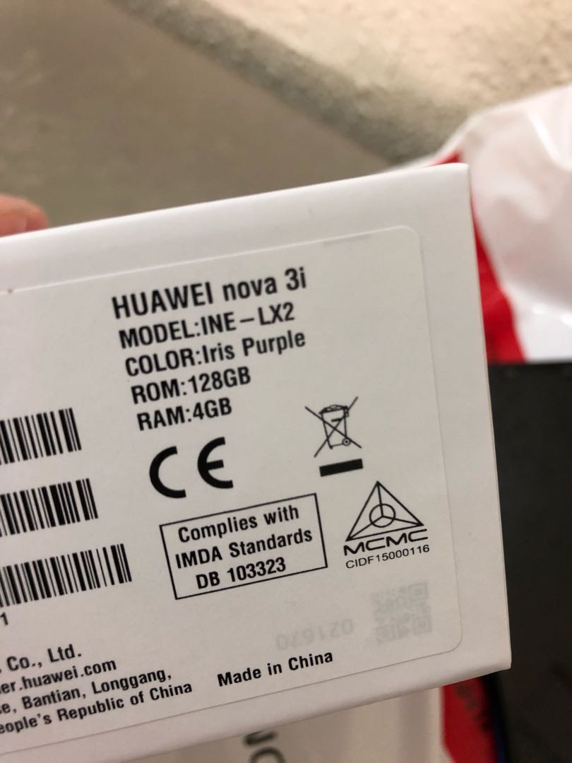 Huawei Nova 3i Purple Mobiles Tablets Android Phones Others Irish 4gb 128gb Share This Listing