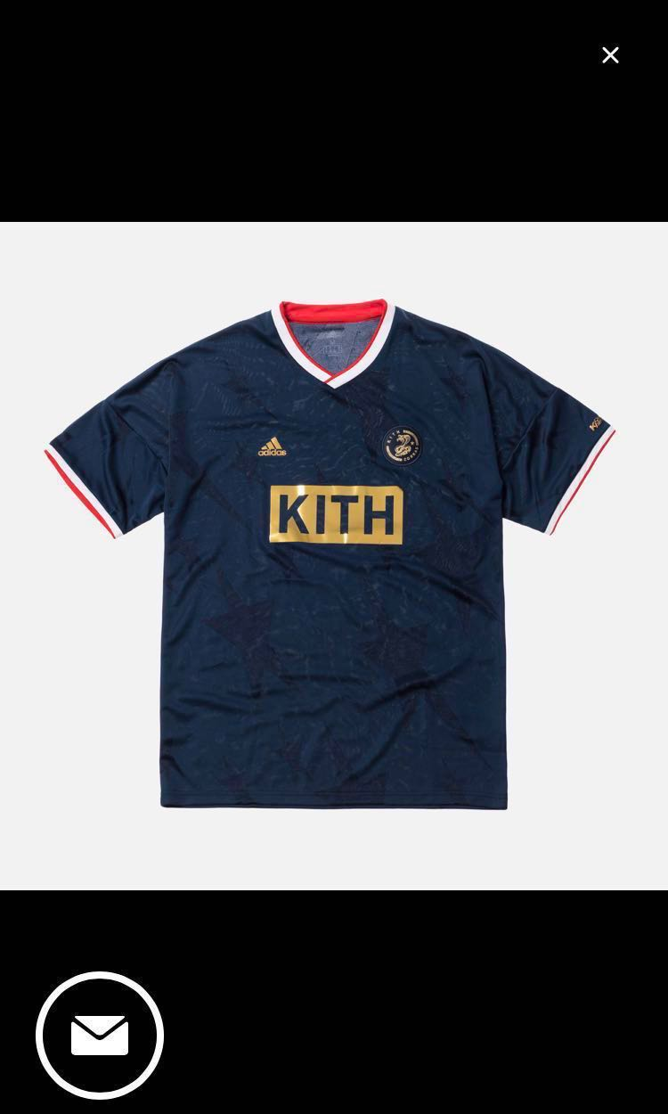 5d612b591 KITH X ADIDAS SOCCER MATCH JERSEY COBRAS HOME, Men's Fashion, Clothes, Tops  on Carousell