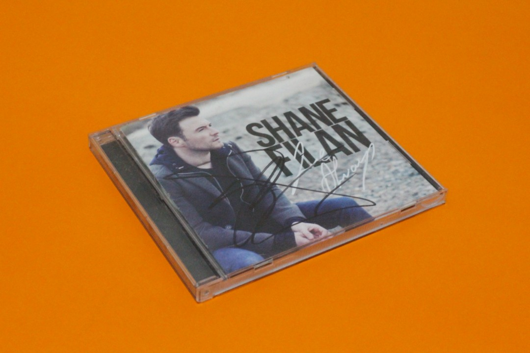 Shane Filan (Westlife) Love Always with Signature on Carousell