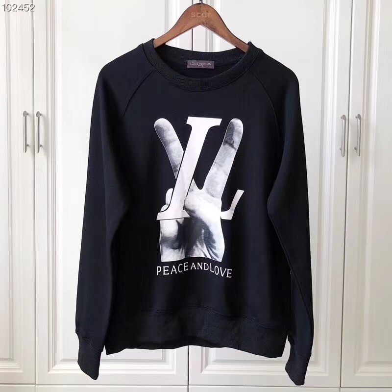 Lv Louis Vuitton Peace Love Sweater Sweatshirt Jumper Crewneck