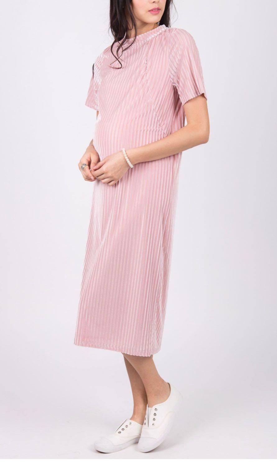 d9dd5daa6b01f Mothercot Velvet Maternity and Nursing dress, Babies & Kids ...