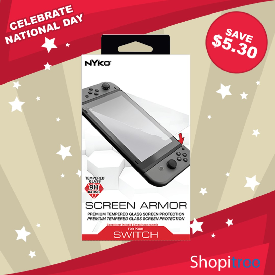 National Day Promo Nyko Screen Armor Tempered Glass For Nintendo New 3ds Xl Ll Hori Switch Toys Games Video Gaming Accessories On Carousell
